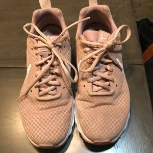 Nike pink sneakers good condition!